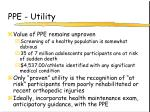 ppe utility