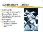 sudden death cardiac