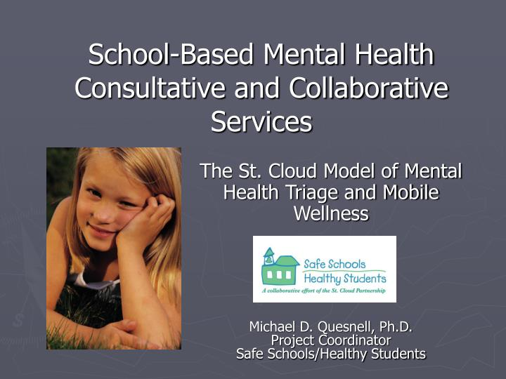 school based mental health consultative and collaborative services n.