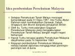 idea pembentukan persekutuan malaysia
