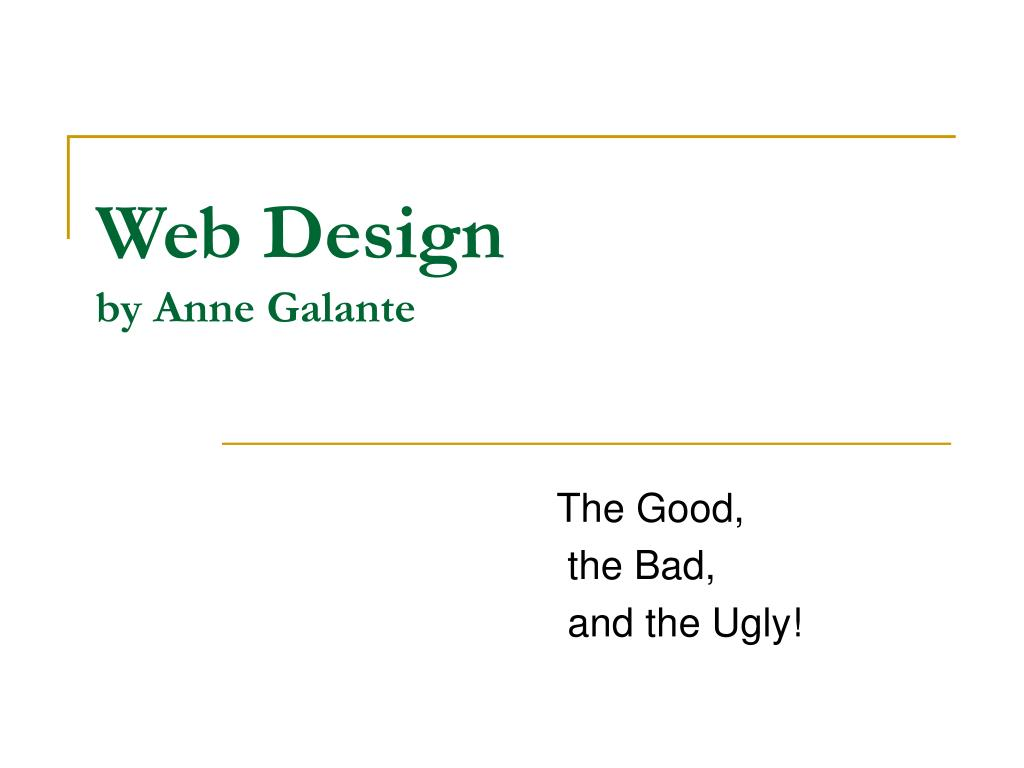 web design by anne galante l.