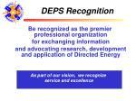 deps recognition