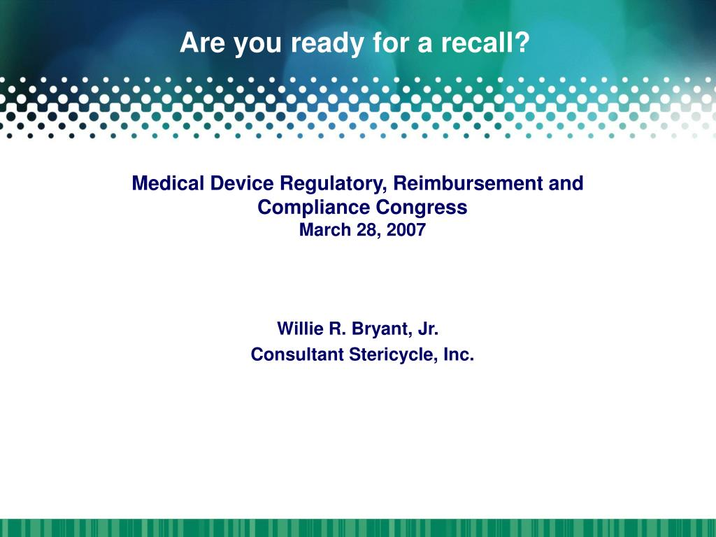 are you ready for a recall l.