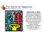 the secret to happiness22