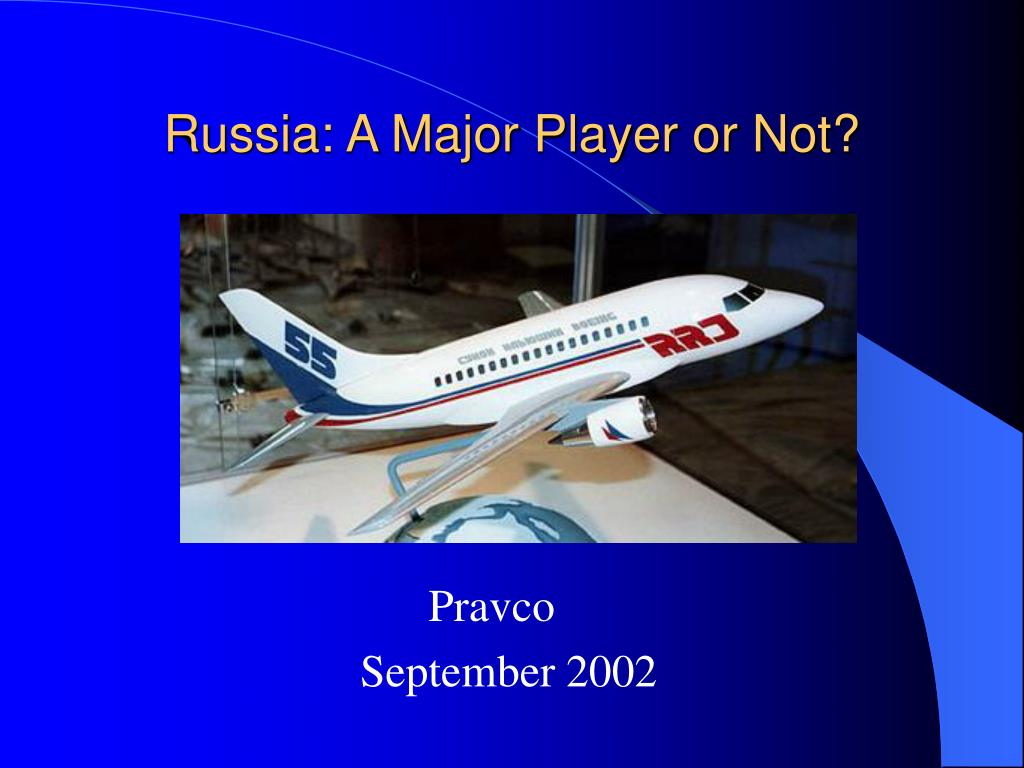 russia a major player or not l.