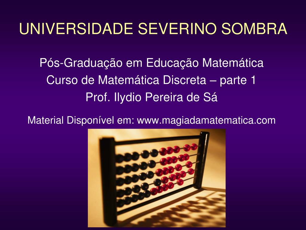 universidade severino sombra l.