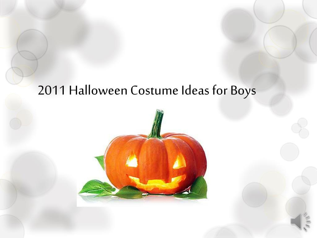 2011 halloween costume ideas for boys l.