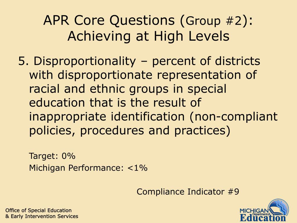 APR Core Questions (