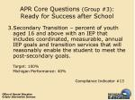 apr core questions group 3 ready for success after school40