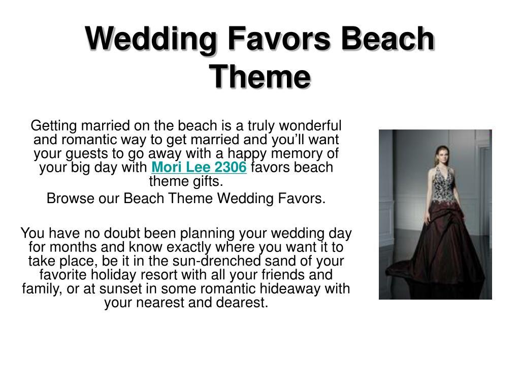 wedding favors beach theme l.