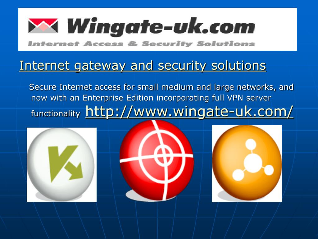 internet access and security solutions l.