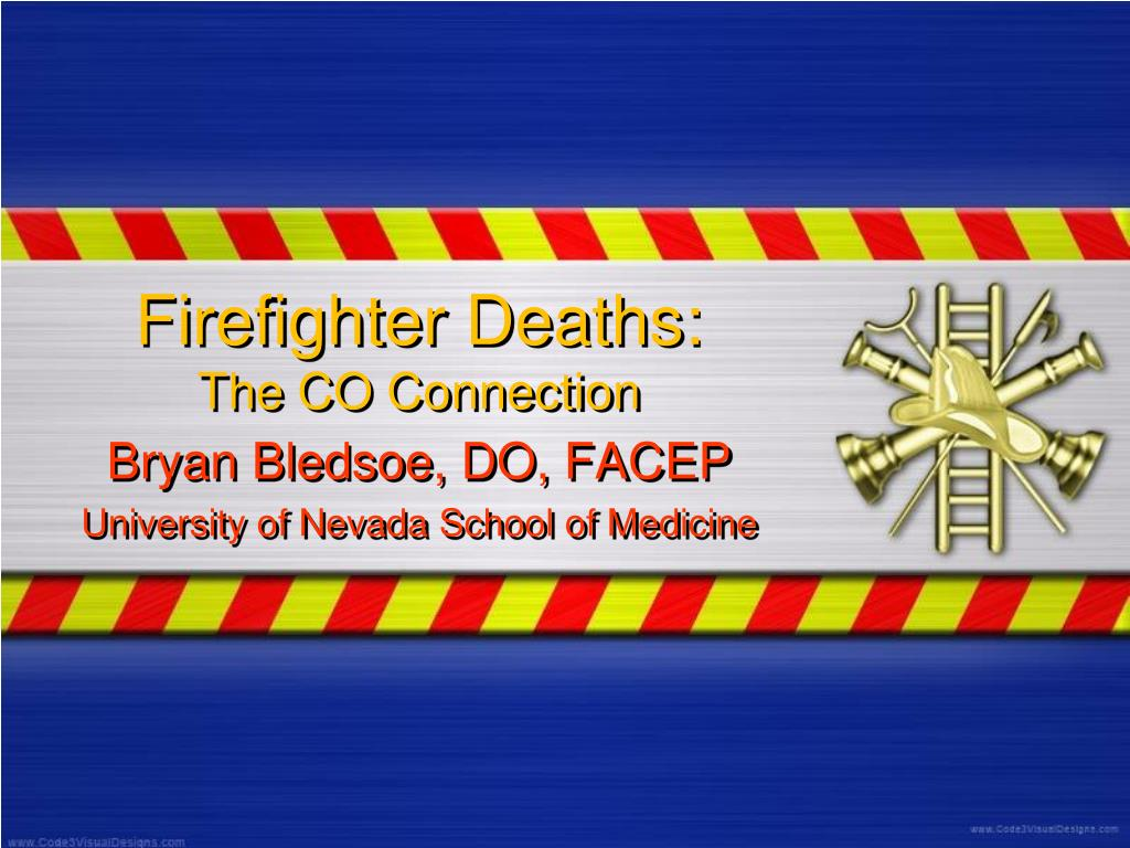 firefighter deaths the co connection l.