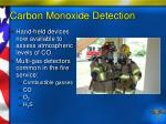 carbon monoxide detection87