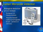 carbon monoxide detection88