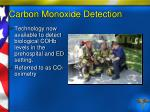 carbon monoxide detection89