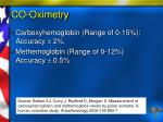 co oximetry96