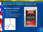sources of carbon monoxide8