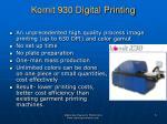 kornit 930 digital printing