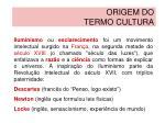origem do termo cultura4