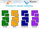 privacy in social networks56