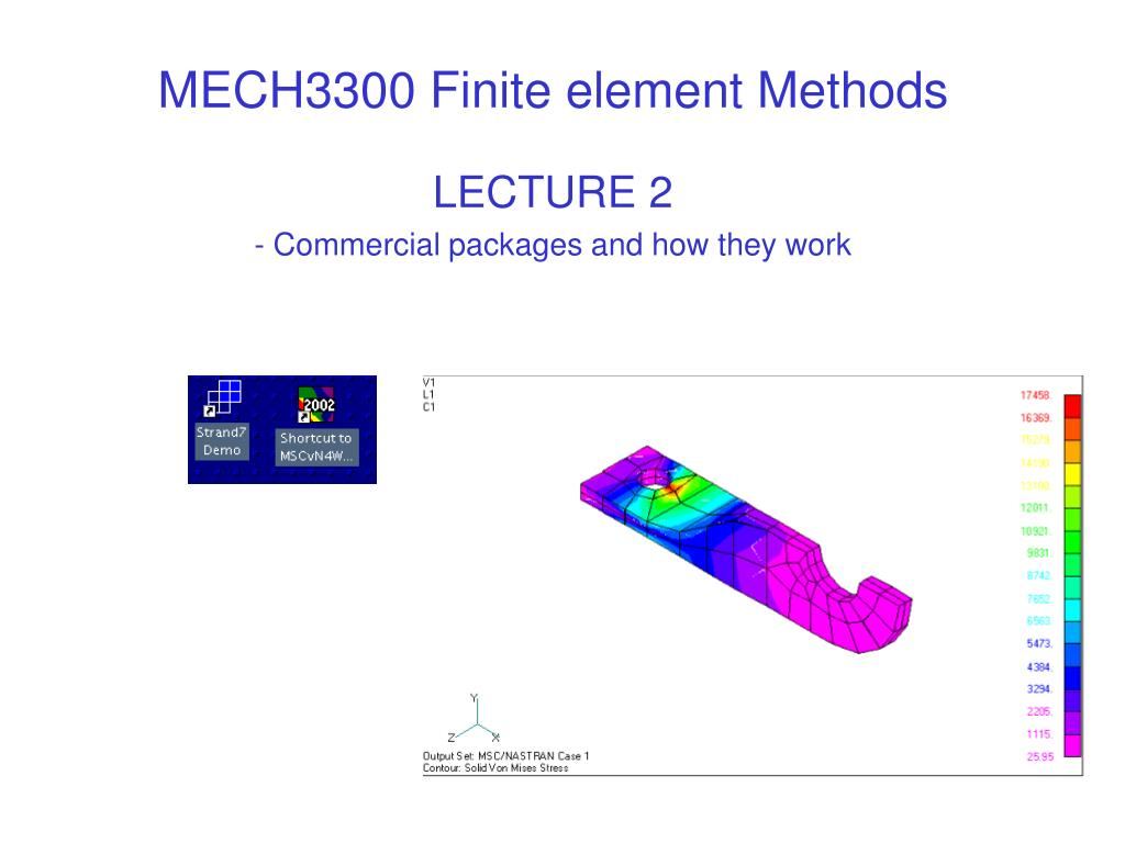 mech3300 finite element methods l.