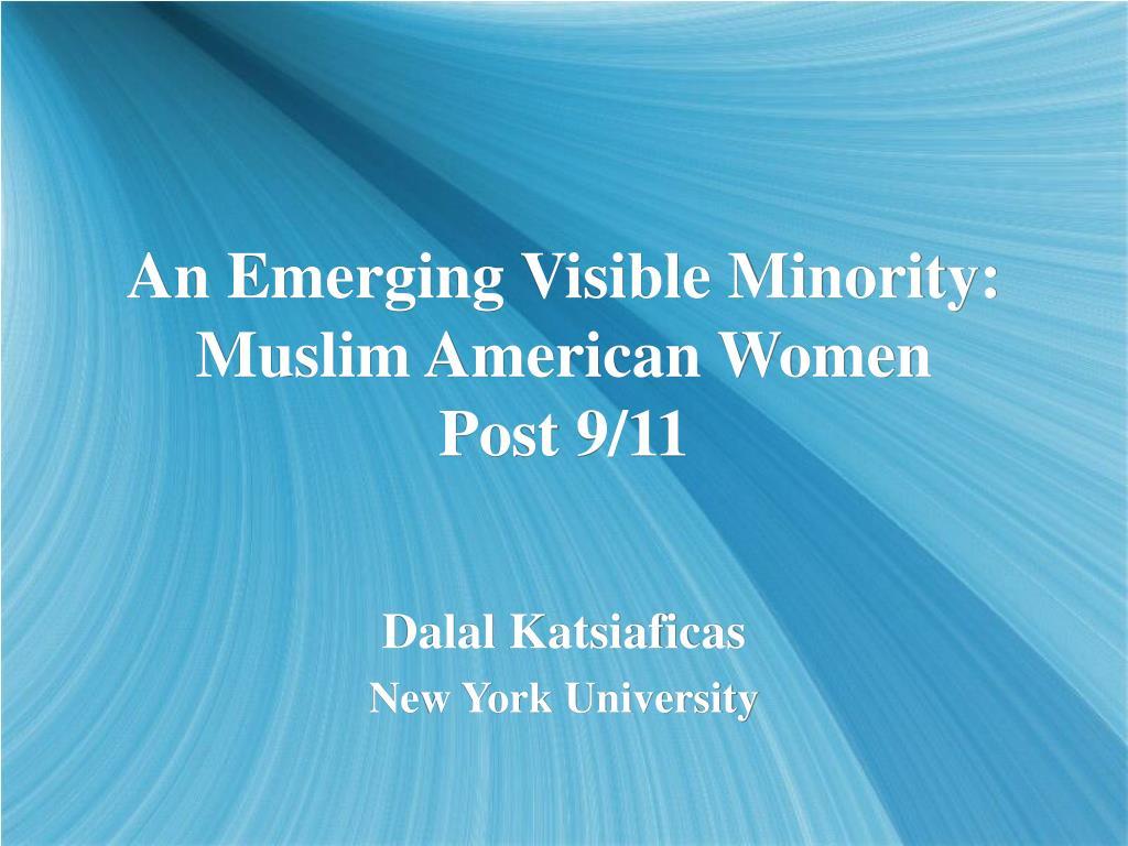 an emerging visible minority muslim american women post 9 11 l.