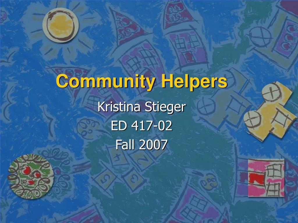 community helpers l.