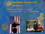 possible community helpers10