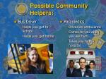 possible community helpers11
