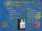 possible community helpers5