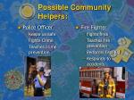 possible community helpers6