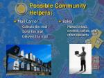 possible community helpers7