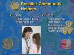 possible community helpers8