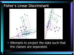 fisher s linear discriminant