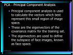 pca principal component analysis