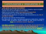 conclusiones y respuestas 2