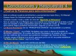 conclusiones y respuestas 4