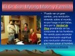 el dr sun myung moon y familia
