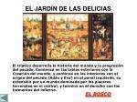 el jard n de las delicias