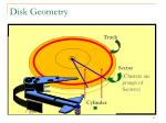 disk geometry