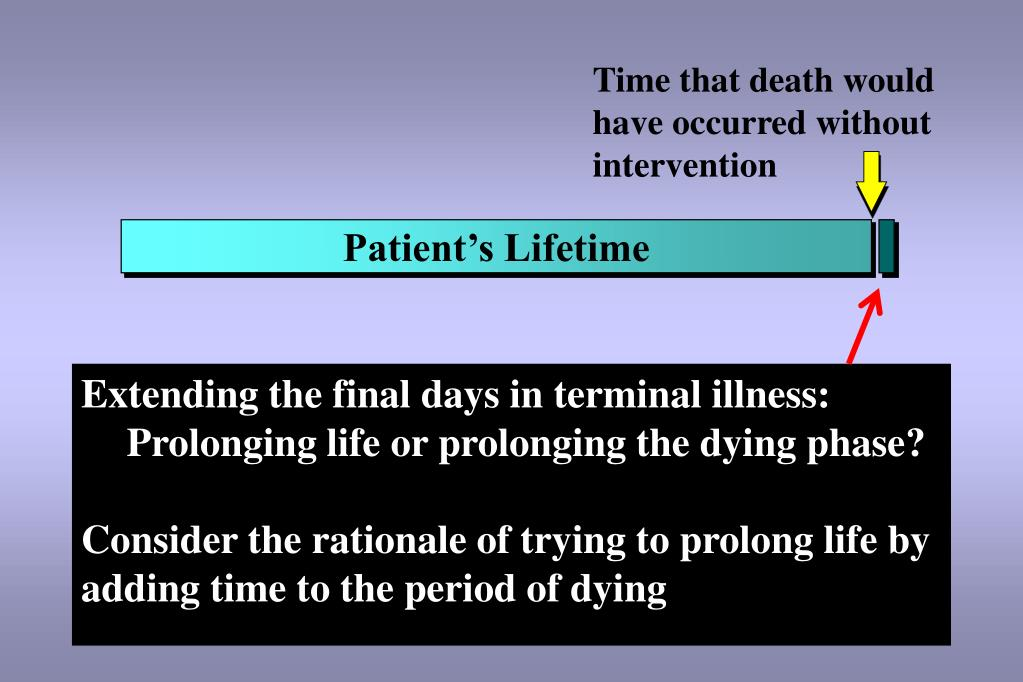 Time that death would have occurred without intervention