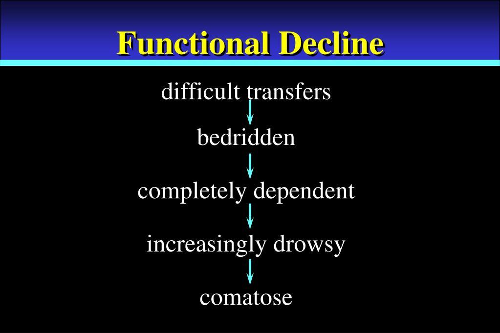Functional Decline