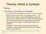 themes motifs symbols