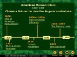 american romanticism 1800 18601