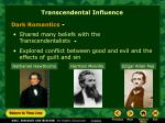 transcendental influence2