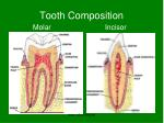 tooth composition