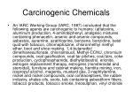 carcinogenic chemicals34
