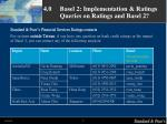 4 0 basel 2 implementation ratings queries on ratings and basel 2