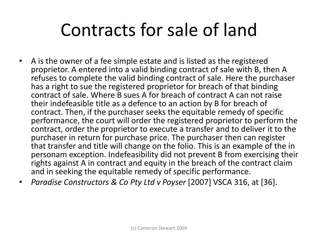 indefeasibility of land due to forgery