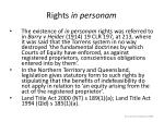 rights in personam3
